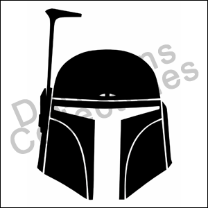 Boba Fett Star Wars Car Decals Vinyl Sticker