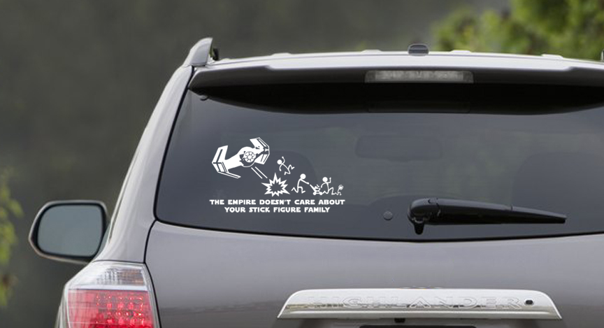 The Empire Doesn't Care About Your Stick Family