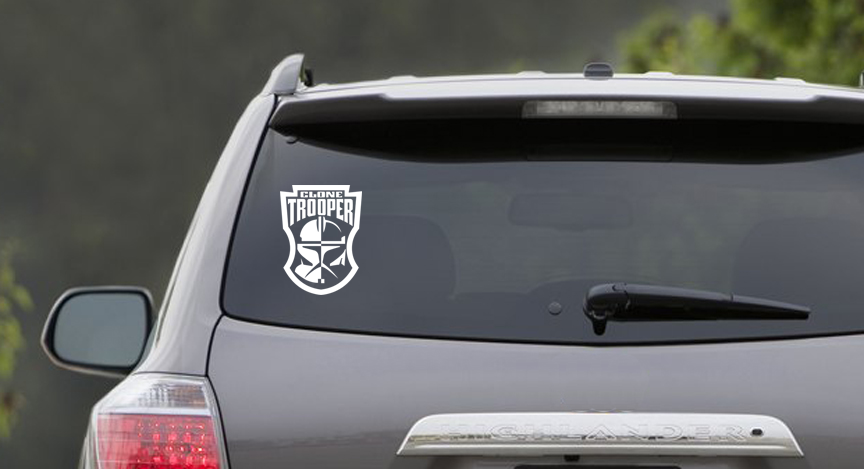 Clone Trooper Sticker