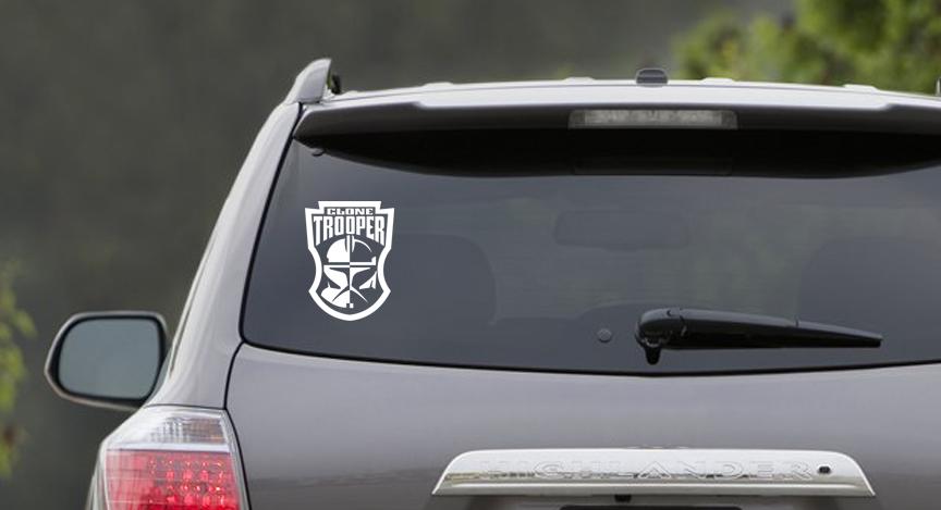 Clone trooper sticker