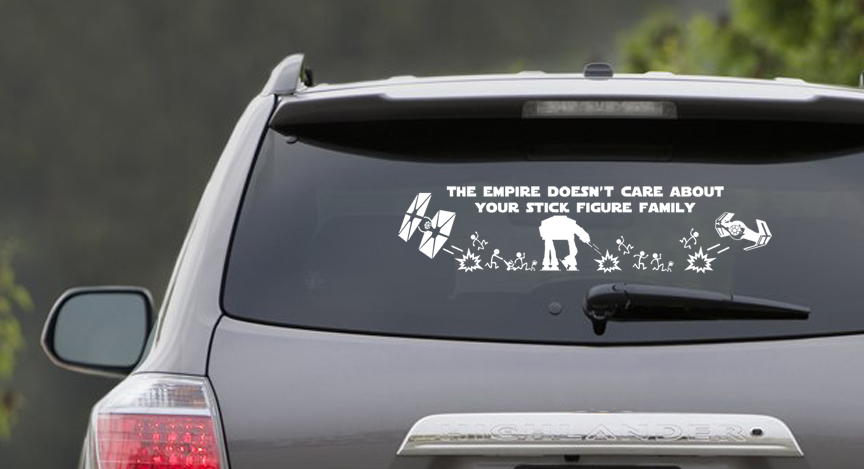 The Empire Doesn't Care Window Scene