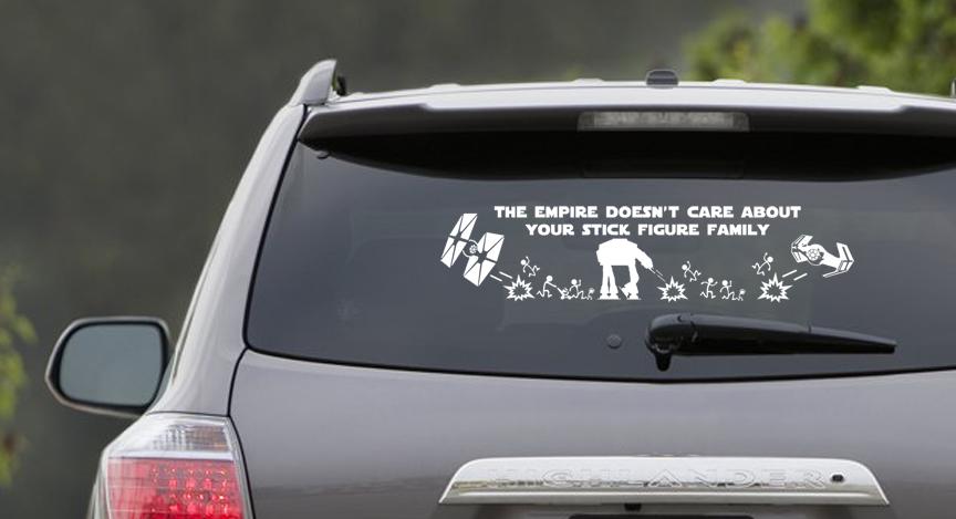 The Empire Doesn't Care Window Scene