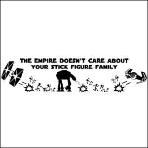 Sith Order Symbol – Star Wars Sticker – Car Vinyl Decal