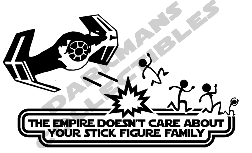 The Empire Doesn't Care About Your Stick Figure Family